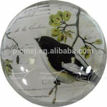 boule de cristal rétro avec décoration de la maison ou des souvenirs