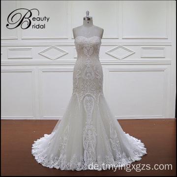 Hochzeit Kleid, Hochzeit Spitzenkleid, Mermaid Brautkleid Sweetheart ...