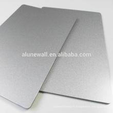 PE PVDF Nano finish aluminium composite panel