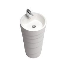 Bathroom Hand artificial stone hair wash mixer faucet wash basin