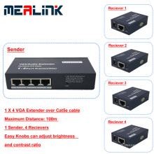 100m 1 bis 4 VGA-Extender