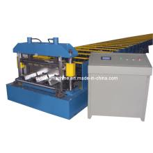Máquina formadora de rolos para piso e telhado de chapa de aço