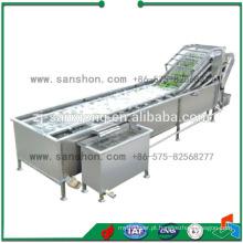 China Máquina de lavar de frutas e legumes de alta eficiência de aço inoxidável
