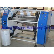 Multi-Función PE estiramiento recubrimiento cortador de película rebobinadora
