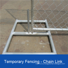 Temporary Chain Link Fencing Panels