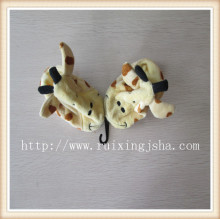 infant fleece animal pattern shoes