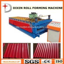 Dx alta qualidade telha de aço dupla camada rolo dá forma à máquina