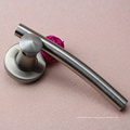 Hot sale Solid type stainless steel material design door lever handle in China