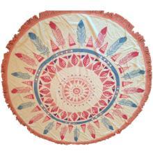 дешевые оптовые круглый мандала пляжные полотенца