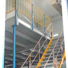 Jracking alta calidad warehosue almacenamiento entresuelo estante pigeon loft