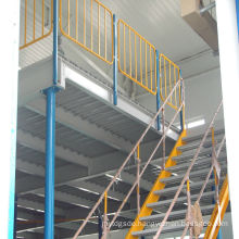 Jracking High quality warehosue storage mezzanine rack pigeon loft