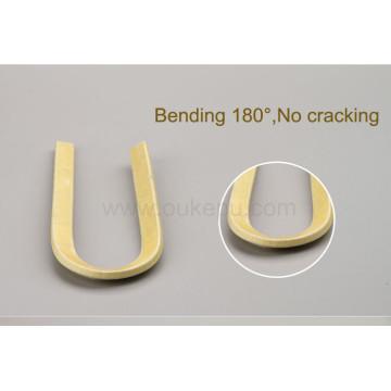 180C Grad 0,40 mm Thichness Doppelglas Faser bedeckt Aluminiumdraht, Glasfiber-Draht mit emailliert