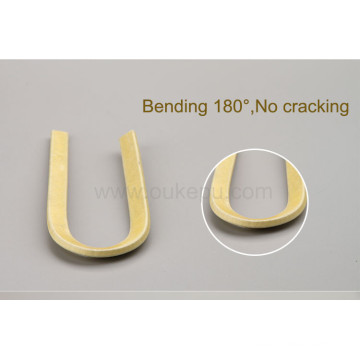 180C degree 0.40mm thichness double glass fiber covered aluminum wire,glassfiber wire with enamelled