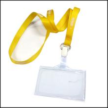 Выдвижное ясное имя / удостоверение личности Значок Барабанный держатель Пользовательский ремешок с зажимами (NLC022)