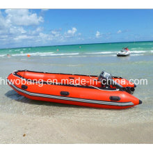 Inflatable Boat, Heavy-Duty Work Boat, Rescue Boat