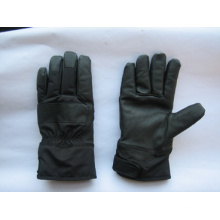 Pig Grain Double Cuff Leather Work Glove-3520