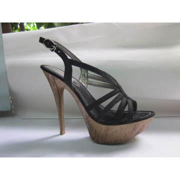 2016 Ladies High Heel Sandals (HCY03-038)