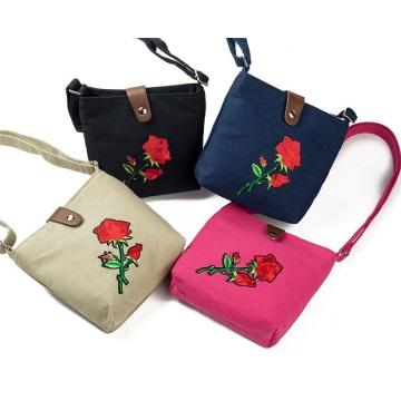 Модная женская сумка-мессенджер с вышивкой Женская сумка