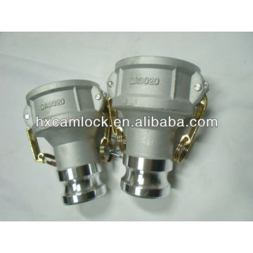 Quick coupling camlock reducer