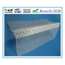 Perle d'angle en PVC avec perles d'angle en maille