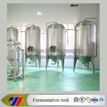 Stainless Steel Honeycomb Jacketed Conical Beer Fermenter