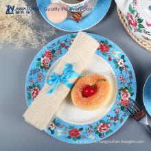 Цветочные разделенные пластины и блюда Кость Китай посуда Пзготовителей