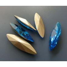 Pérola de fantasia de cristal solto para acessórios de diamante