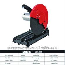 Máquina de corte de 355mm, máquina de corte da ferramenta de poder com alta qualidade