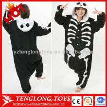 Fiesta de suministro de vacaciones Halloween niños adultos esqueleto trajes