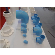 China fabricação de acessórios para tubos PVC plástico para abastecimento de água