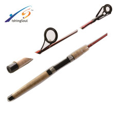 BAR002 Hot sell nano carbon materia bass fishing rod