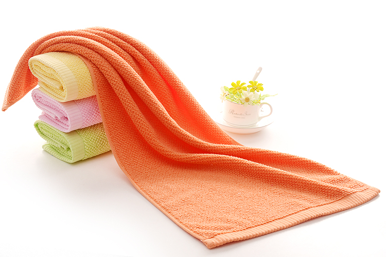 Luxury Orange Towels