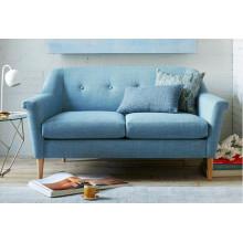 Nueva cama de sofá de los muebles de la sala del estilo del norte de Europa