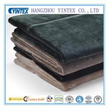 Tecido de veludo para cobertor de verão