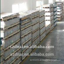 5052 Folha de alumínio H32 1.0mm 1.2mm 1.4mm para folha de lâmina de ventilador