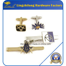 Fashion Jewelry Display Item Cufflinks and Tie Clip Set