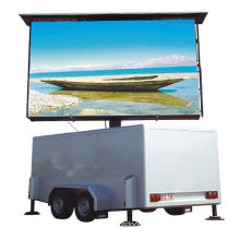 Electronic Double Sided Led Display Boards , P12 Outdoor Full Color Screen