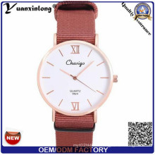 Yxl-524 Lover Simple Fashion Fabaric Nato Nylon Band Unisex Watches Made in China