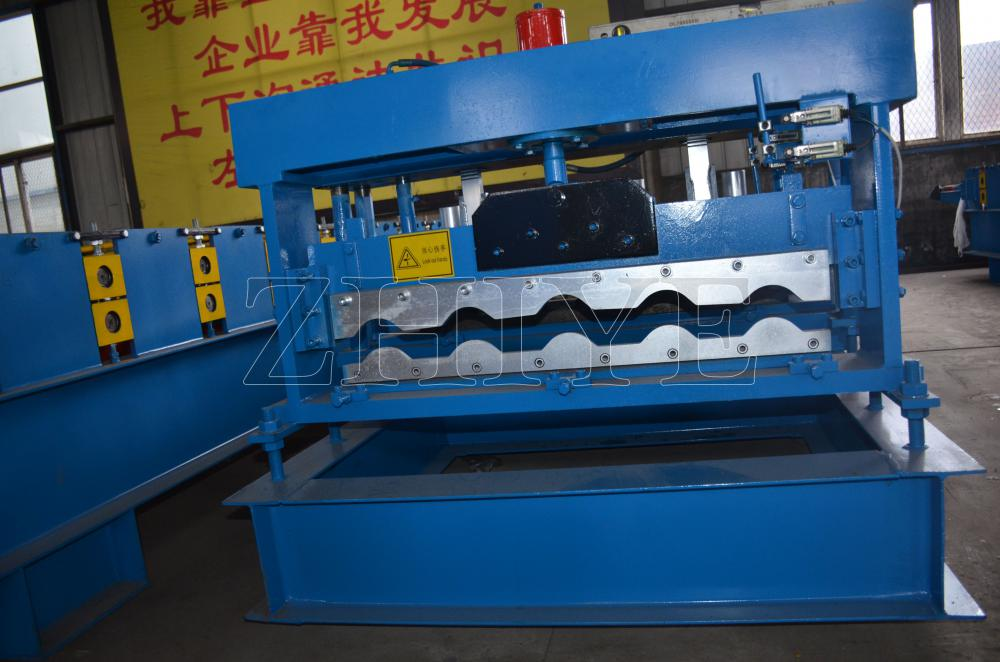 Zhiye Glazed Tile Machine Zinc de haute qualité