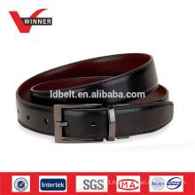 Black formal belts for man