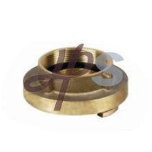 Fabricante de adaptador de manguera de incendio de latón o aluminio giratorio