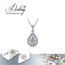 Destiny Jewellery Crystal From Swarovski Necklace Drop Pendant