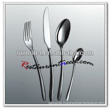 T254 High Quality Hotel Stainless Steel Svelte Flatware Set