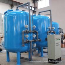 Filtration automatique de sable à quartz automatique pour traitement de l'eau