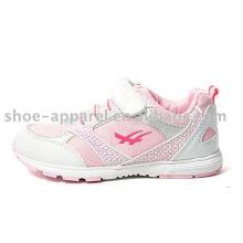 últimas y cordones niñas zapatos para correr