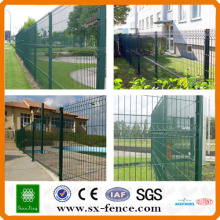 Arch top fence welding security fence