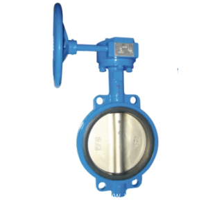 CF8 Soft seated butterfly valve