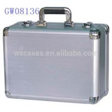 высокое качество! сильный & переносные алюминиевые металла чемодан Пзготовителей