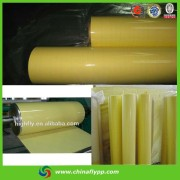FLY hot photo of packaging materials, double sides glossy pvc film