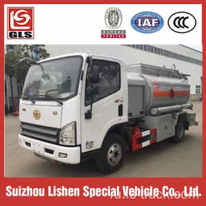 4X2 5m3 aircraft refueling truck / fuel dispensing trucks for sale